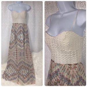 😍 Super cute Maxi summer dress Sz. S/M